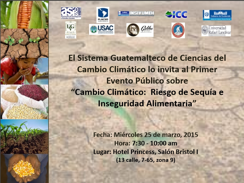 Taller Riesgo de Sequía e Inseguridad Alimentaria 2015