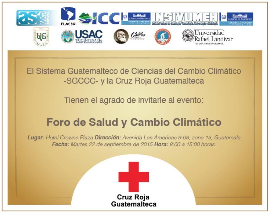 Taller Salud y Cambio Climático 2015