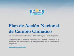 Thumbnail Of Plan De Accion Nacional Cambio Climatico