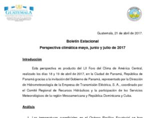 thumbnail of Boletin_Estacional_may-jun2017_INSIVUMEH