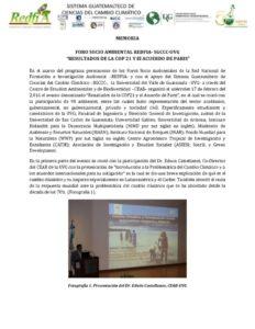 thumbnail of Memoria_REDFIA_UVG_SGCCC_28mar16