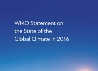 thumbnail of State of world climate WMO 2017